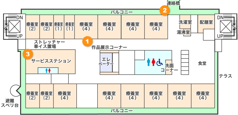 3階フロアマップ画像