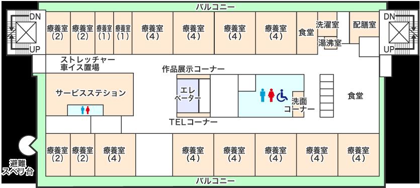 4階フロアマップ画像